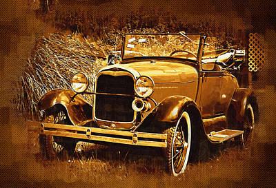 Model A1 Poster by Dale Stillman