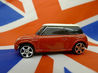 Model Mini Poster by Richard Reeve