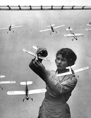 Model Planes Poster by Fox Photos