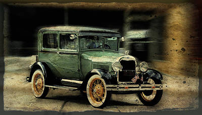 Model T Poster by Janice Adomeit