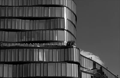 Modern Building Chelsea Nyc Poster by Robert Ullmann