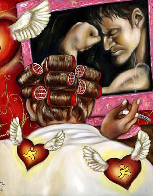 Modern Romance Right Poster by Hiroko Sakai