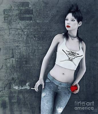 Modern Snow White Poster