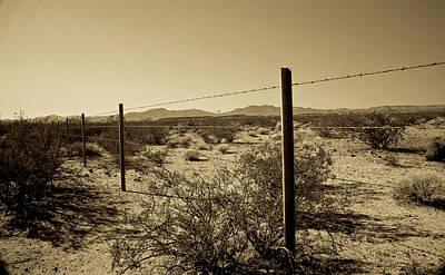 The Mojave Desert   Poster by Gilbert Artiaga