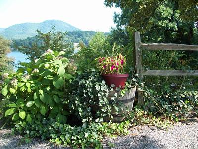 Poster featuring the photograph Mom's Garden by Lou Ann Bagnall