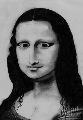 Monalisa Poster by Shashi Kumar