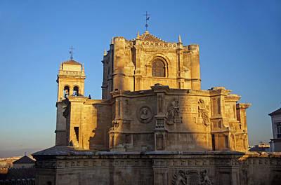 Monasterio De San Jeronimo Poster by Rod Jones