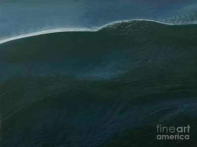 Mono Wave Poster by Carina Mascarelli