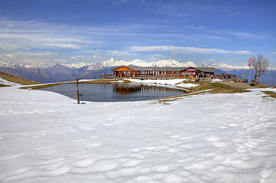 Monte Tamaro - Alpe Foppa - Ticino - Switzerland Poster by Joana Kruse