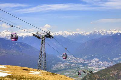 Monte Tamaro - Switzerland Poster by Joana Kruse