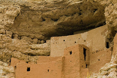 Poster featuring the photograph Montezuma's Castle by Tom Singleton