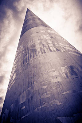 Monument Of Light In Dublin Poster