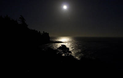 Poster featuring the photograph Moon Over Dor by Brent L Ander