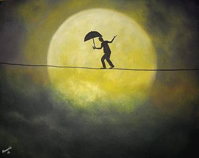 Moonwalker Poster by Edwin Alverio