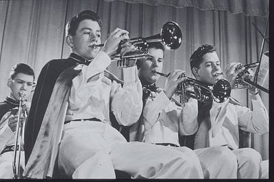 Mooseheart High School Band, 1950 Poster by Archive Holdings Inc.