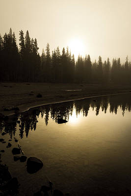 Poster featuring the photograph Morning Calm by Randy Wood