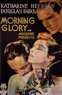 Morning Glory, Adolphe Menjou Poster by Everett