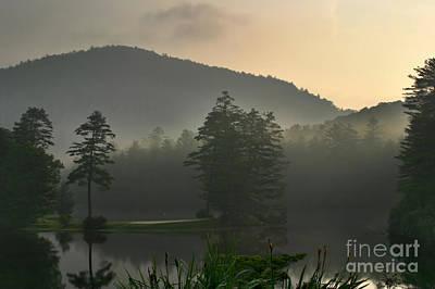 Morning On The Lake Poster by Matt Tilghman