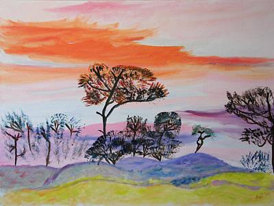 Morning Skies  Poster by Meryl Goudey