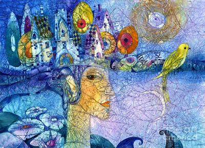 Morning Song Poster by Svetlana and Sabir Gadghievs