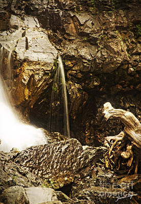 Poster featuring the photograph Morrell Falls 3 by Janie Johnson