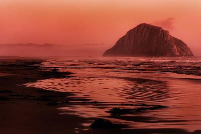 Morro Sunset Poster by Matt  Trimble