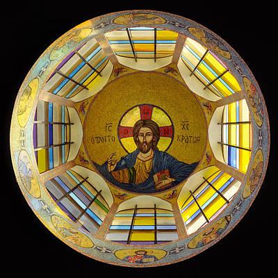 Mosaic Christ Poster