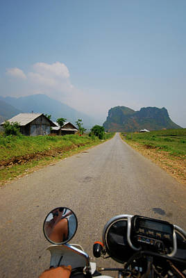 Motorbike Trip Through Northern Vietnam Poster by Thepurpledoor