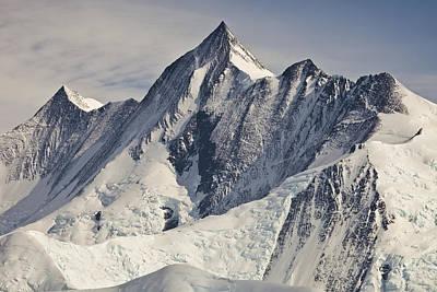 Mount Herschel Above Cape Hallett Poster
