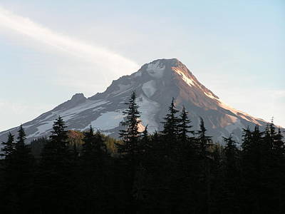 Poster featuring the photograph Mount Hood Oregon by Rand Swift