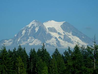 Mount Rainier 5 Poster by Kathy Long
