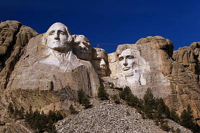 Poster featuring the photograph Mount Rushmore National Monument by Paul Svensen