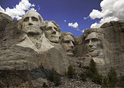 Mount Rushmore  Poster by Paul Plaine