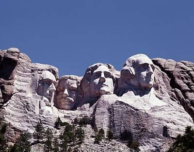 Mount Rushmore, South Dakota. Ca. 2000 Poster