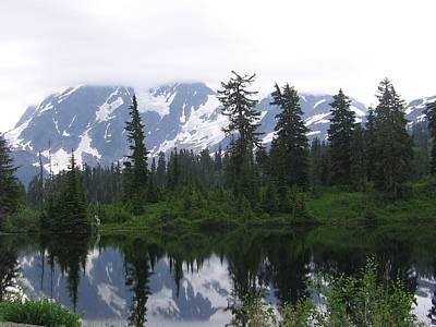Poster featuring the photograph Mount Shuksan by Karen Molenaar Terrell