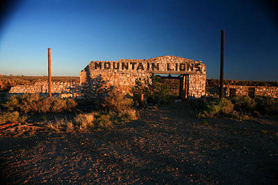 Poster featuring the photograph Mountain Lions At Two Guns by Lon Casler Bixby