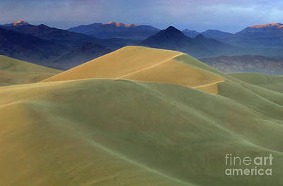 Mountains Of Sand 2 Poster by Bob Christopher