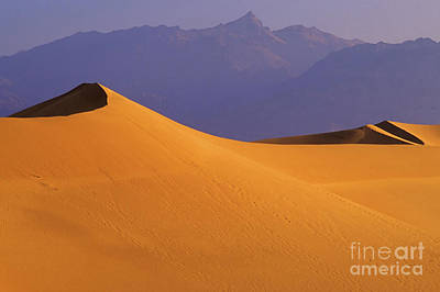 Mountains Of Sand Poster by Bob Christopher