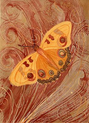 Movement Butterfly Poster by Charlotte Garrett