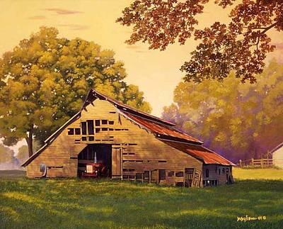 Mr. D's Barn Poster