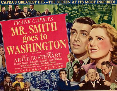 Mr. Smith Goes To Washington, James Poster
