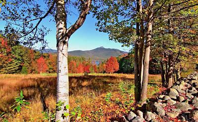Mt. Chocorua Autumn Horizontal Poster by Larry Landolfi