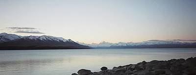 Poster featuring the photograph Mt Cook From Lake Pukaki by Peter Mooyman