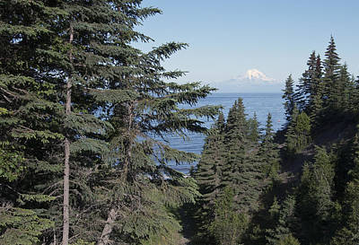 Mt. Redoubt View Poster