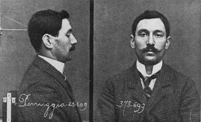 Mugshots Of Vincenzo Perruggia, An Poster by Everett