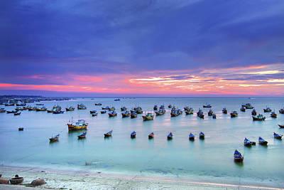 Mui Ne Is Coastal Resort Town Poster by Simonlong