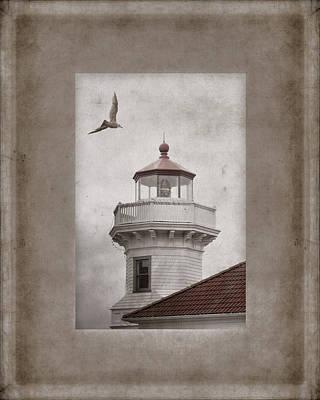 Mukilteo Light Washington Poster by Carol Leigh