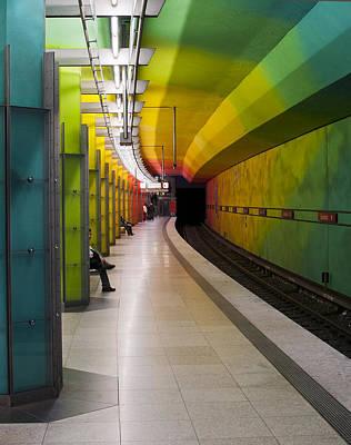 Munich Subway No.2 Poster by Wyn Blight-Clark