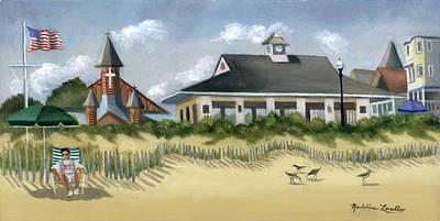 Music Pavillion In Ocean Grove  Poster