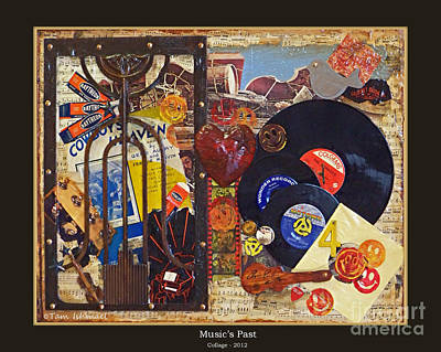 Music's Past - 2012 Poster by Tammy Ishmael - Eizman